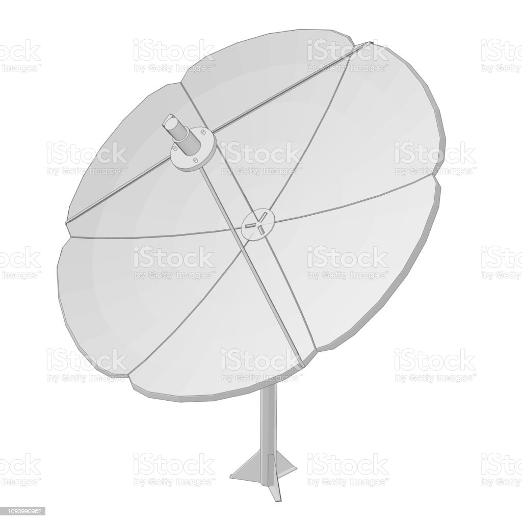 hight resolution of satellite dish royalty free satellite dish stock vector art amp more images of antenna