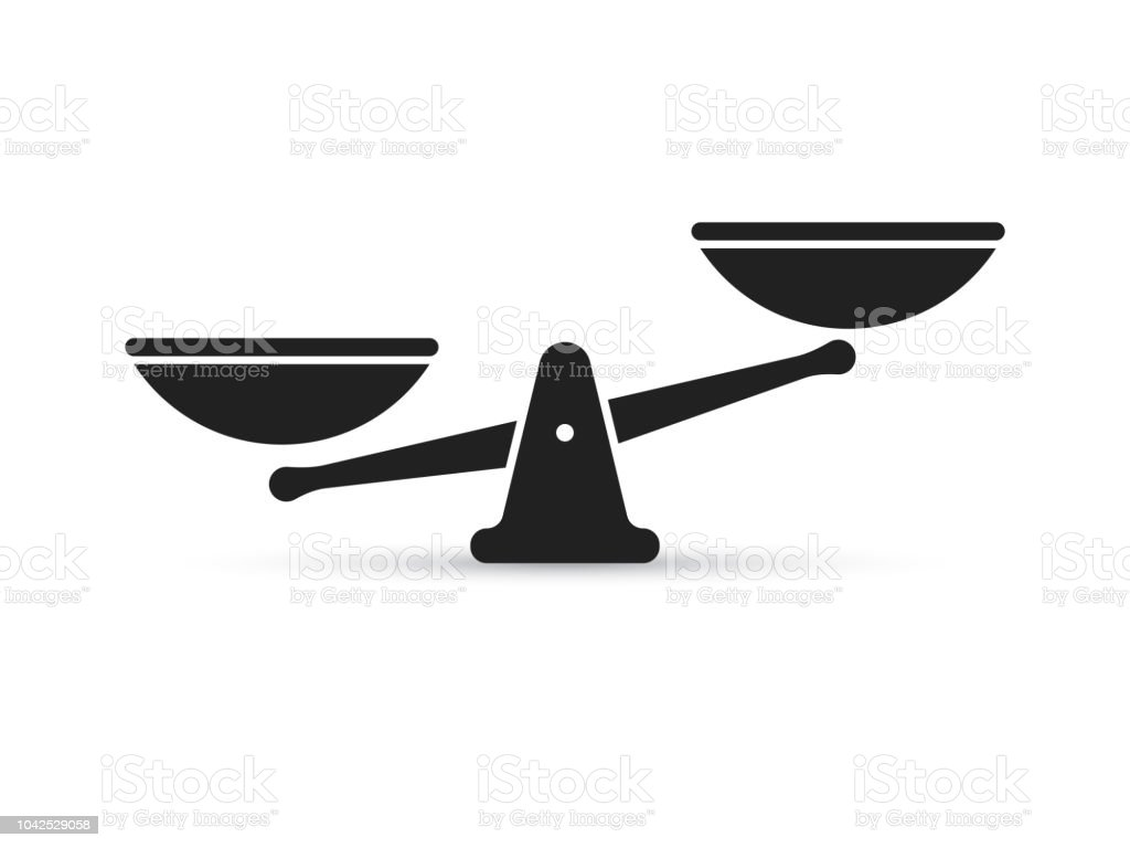 scale vector icon for