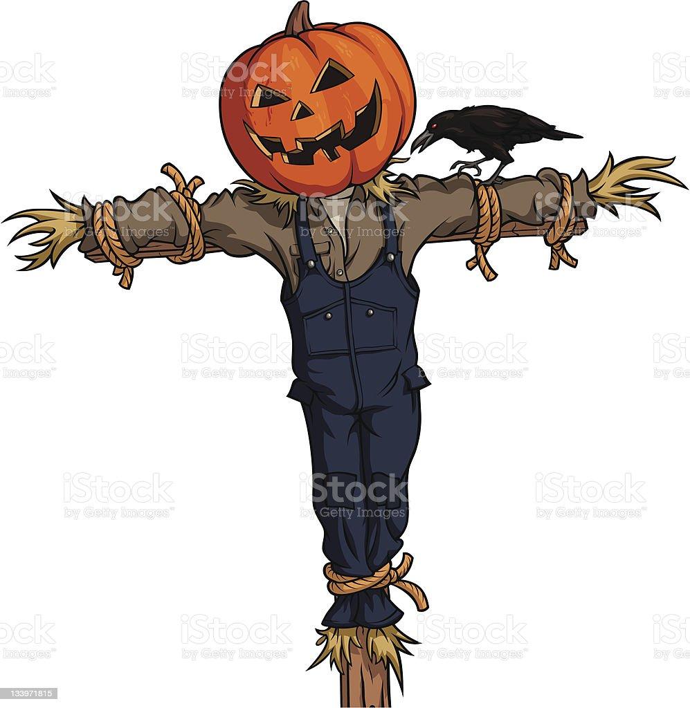 scarecrow clip art vector