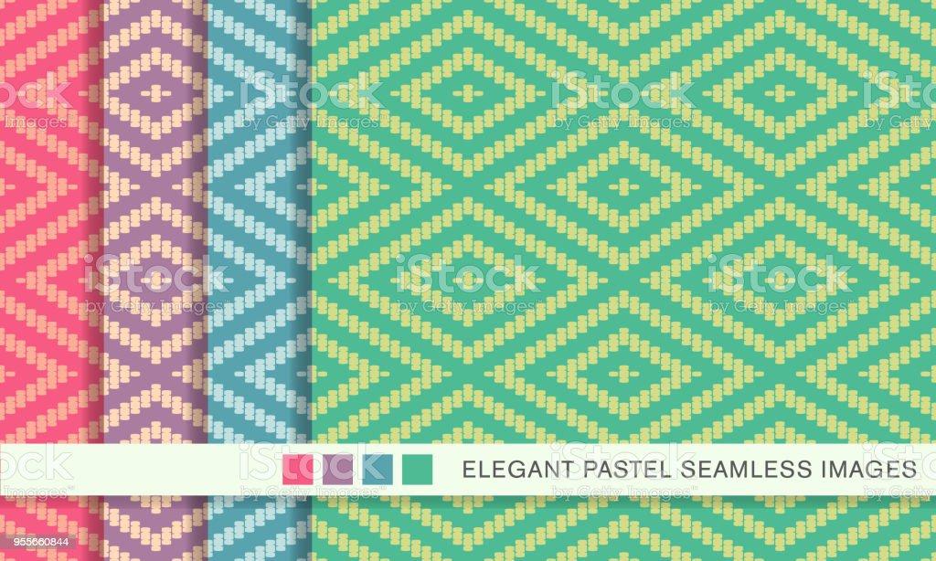 Pastel Diamond Background