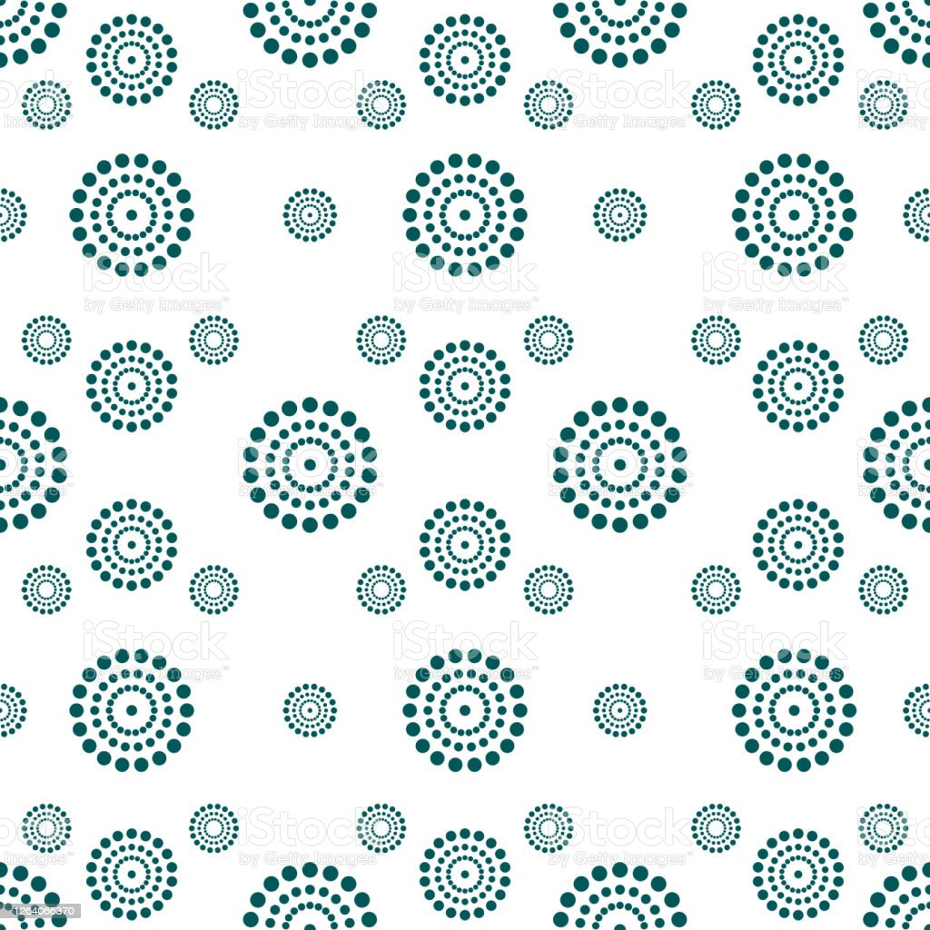 seamless pattern dots circle perfect motifs and texture for pillows curtains clothes carpet bedding wallpaper fabric design with motif dots circle stock illustration download image now istock