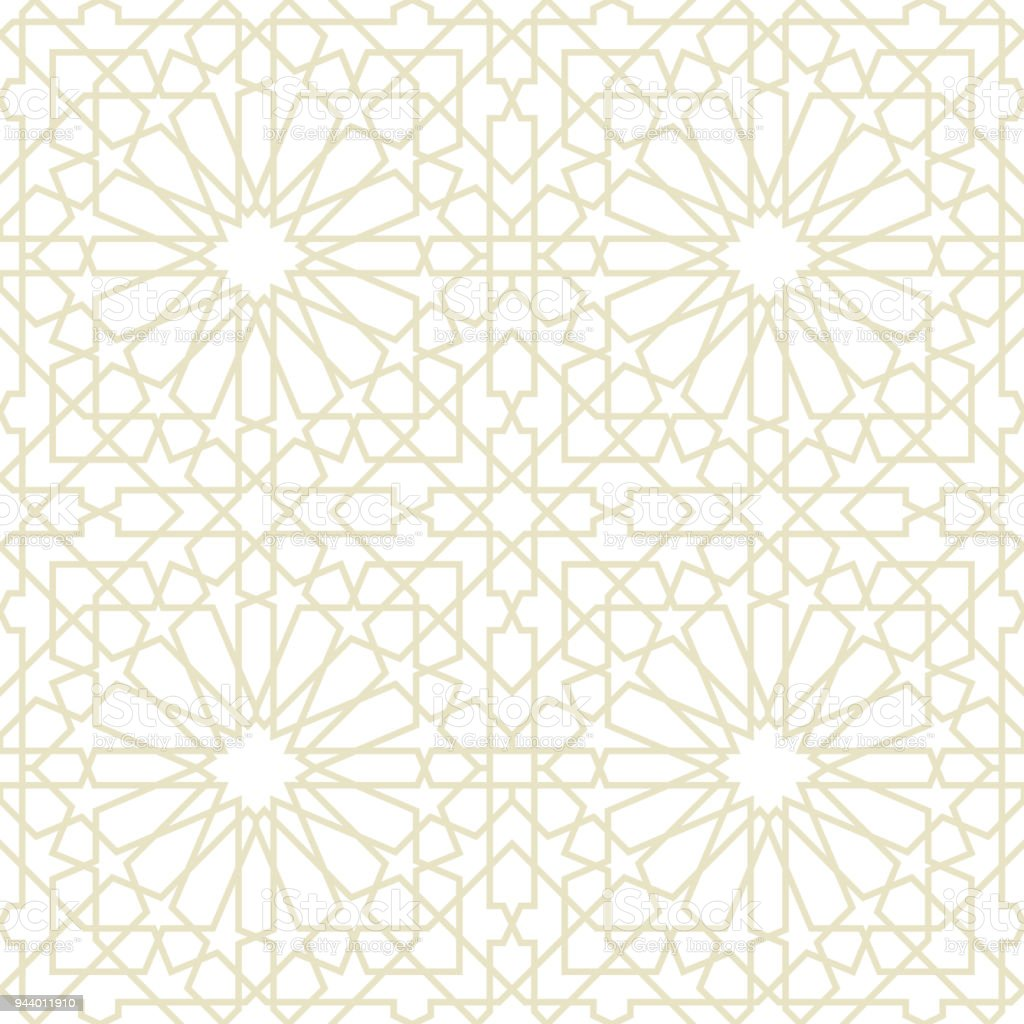 seamless pattern or islamic