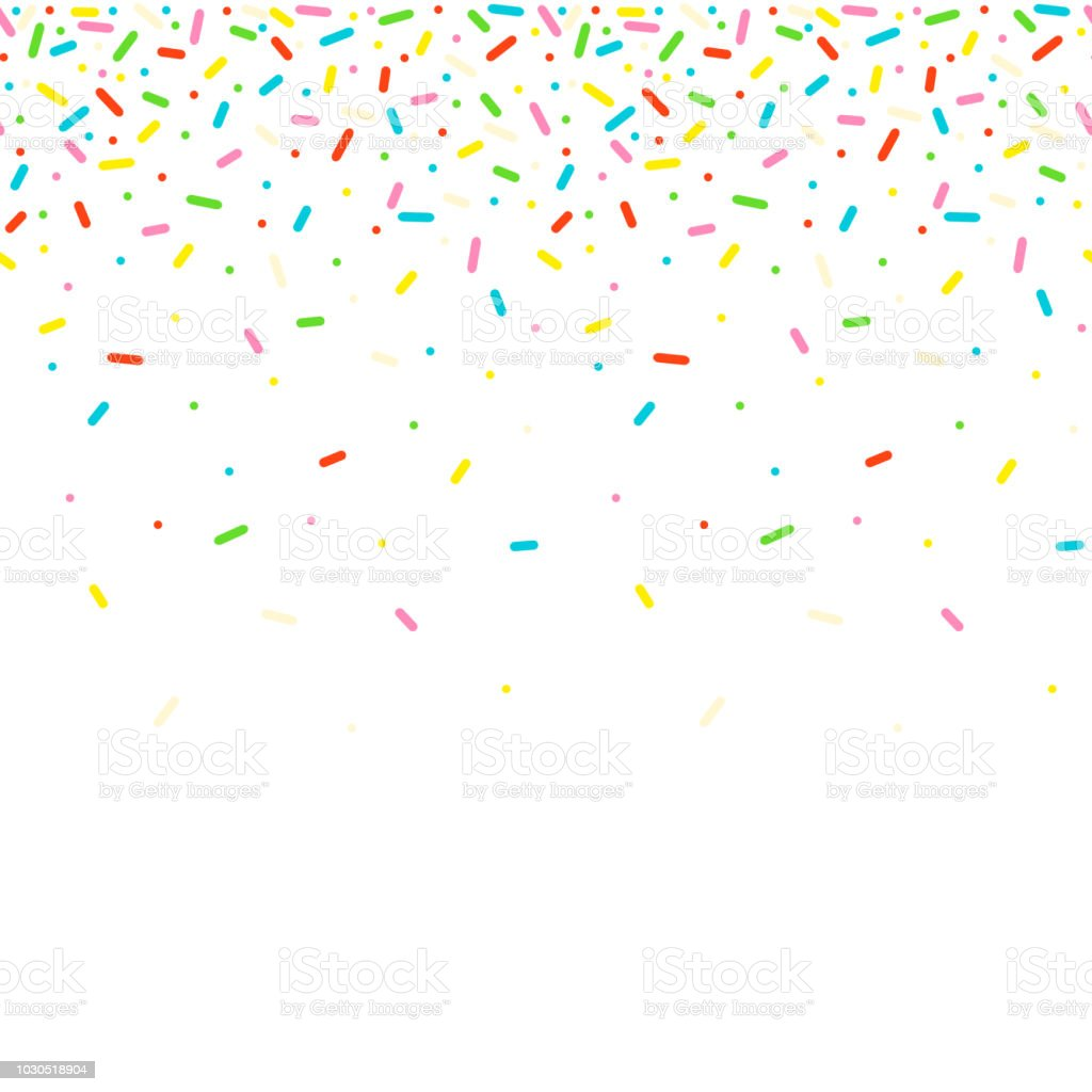sprinkles clip art vector