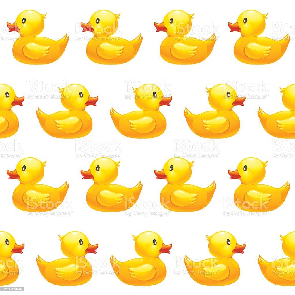 yellow duck illustrations