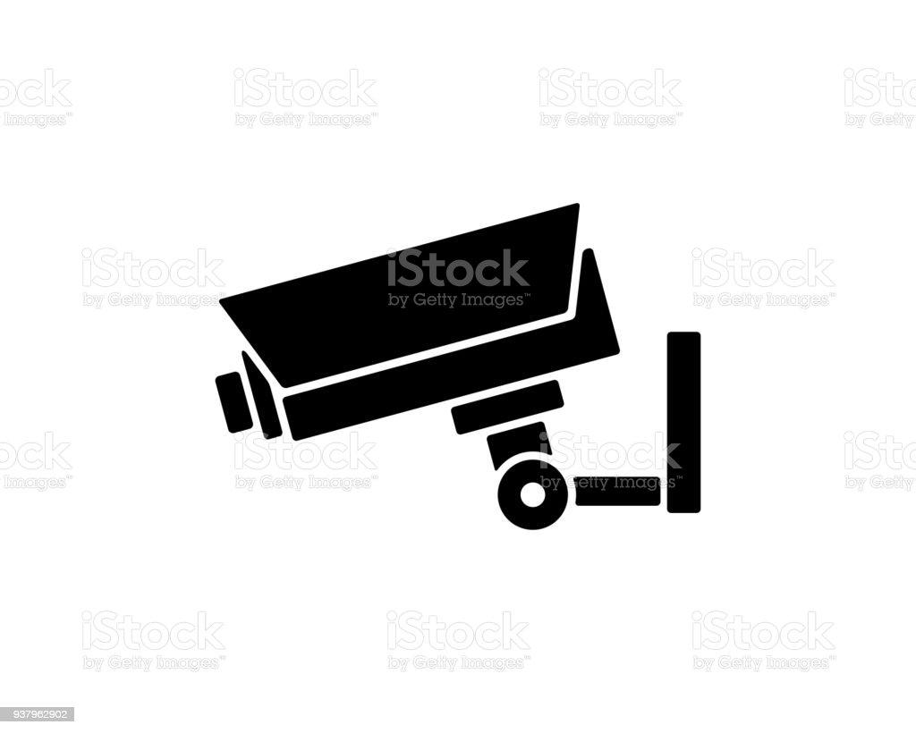 Security Camera Icon Design Illustrationsilhouette Design