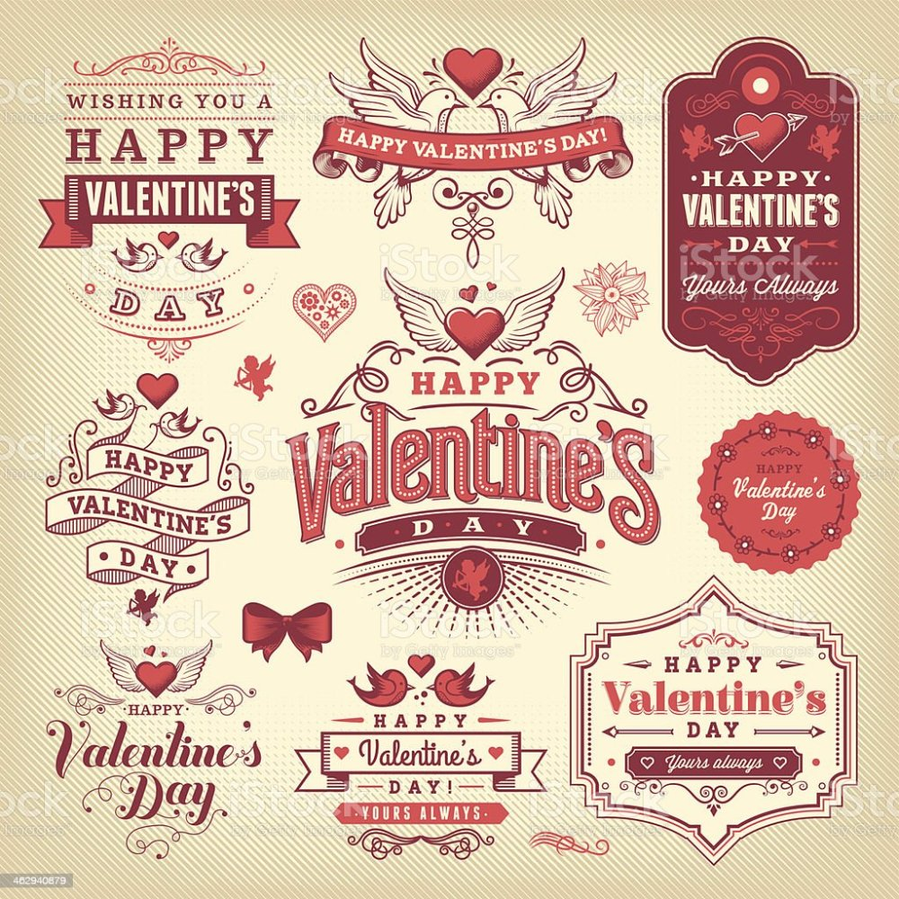 medium resolution of a selection of valentines day labels royalty free a selection of valentines day labels stock
