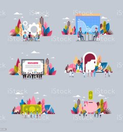 set diagram gear wheel medicine dollar banknote background mix race people working together hand hold diversity things business concept over flat  [ 1024 x 1024 Pixel ]