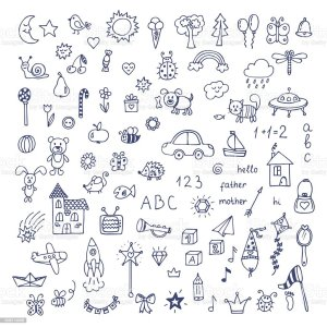 doodles doodle drawing children drawn drawings draw easy single istockphoto dibujos google notes simple garabatos techniques gekritzel sketches simples hands