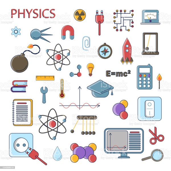 Ilustraci De Conjunto La Sica Cientfica Vector
