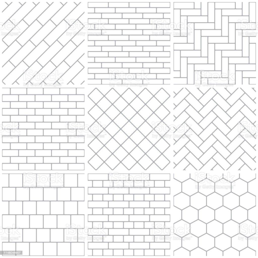 194 306 tile pattern illustrations clip art