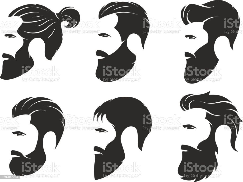 royalty free man bun hair clip