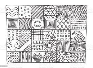 patterns simple drawing drawn hand pattern line vector draw easy designs drawings doodle istockphoto background sketch istock zentangle transparent