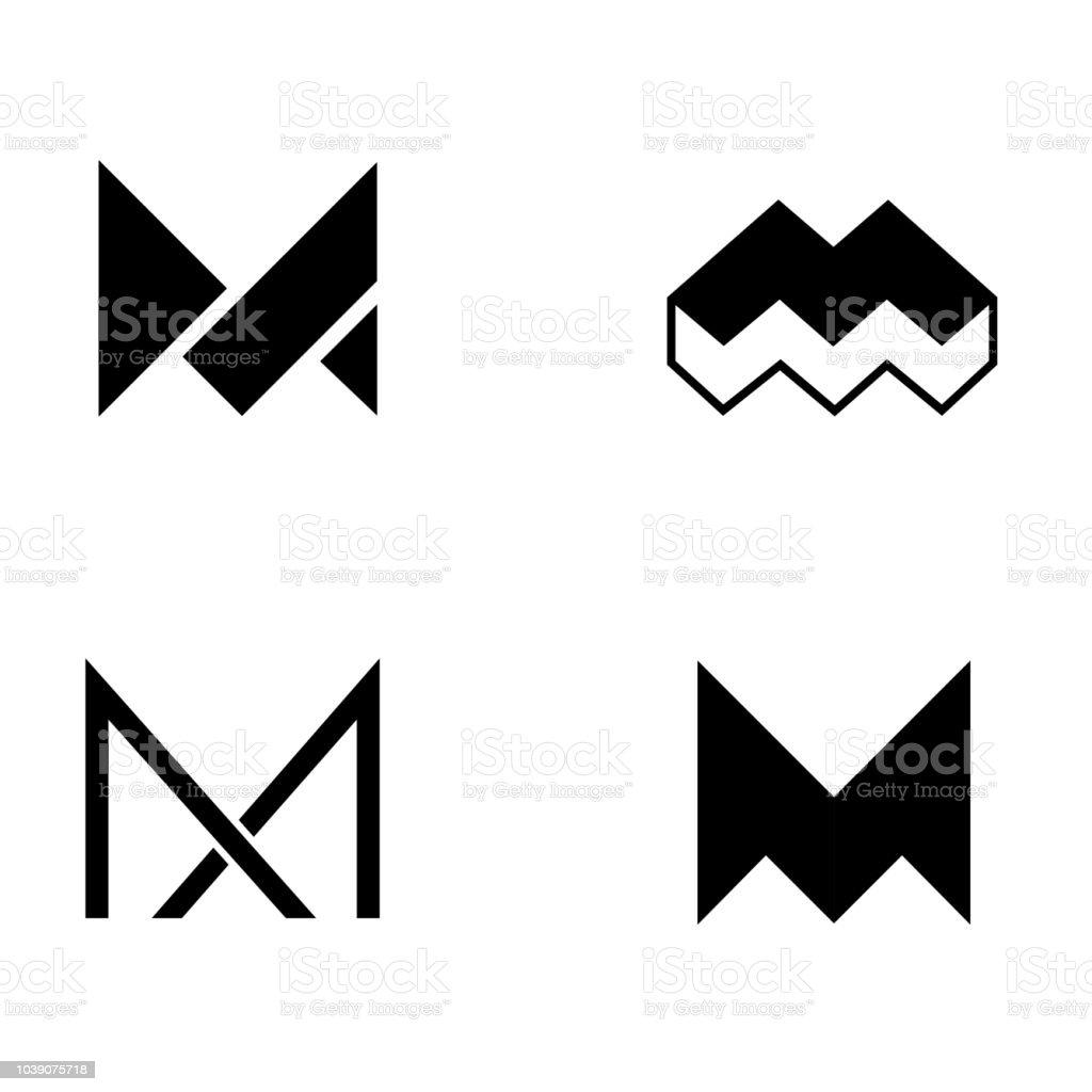 set of vector logo