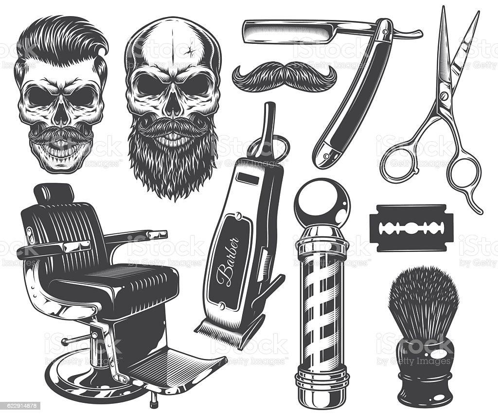barber clip art vector