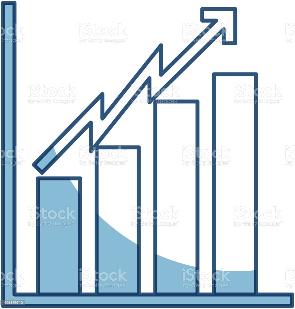 hight resolution of shadow bar chart icon royalty free shadow bar chart icon stock vector art amp