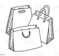 Ilustracin de Compra Cartn De Dibujo Ilustracin Compras