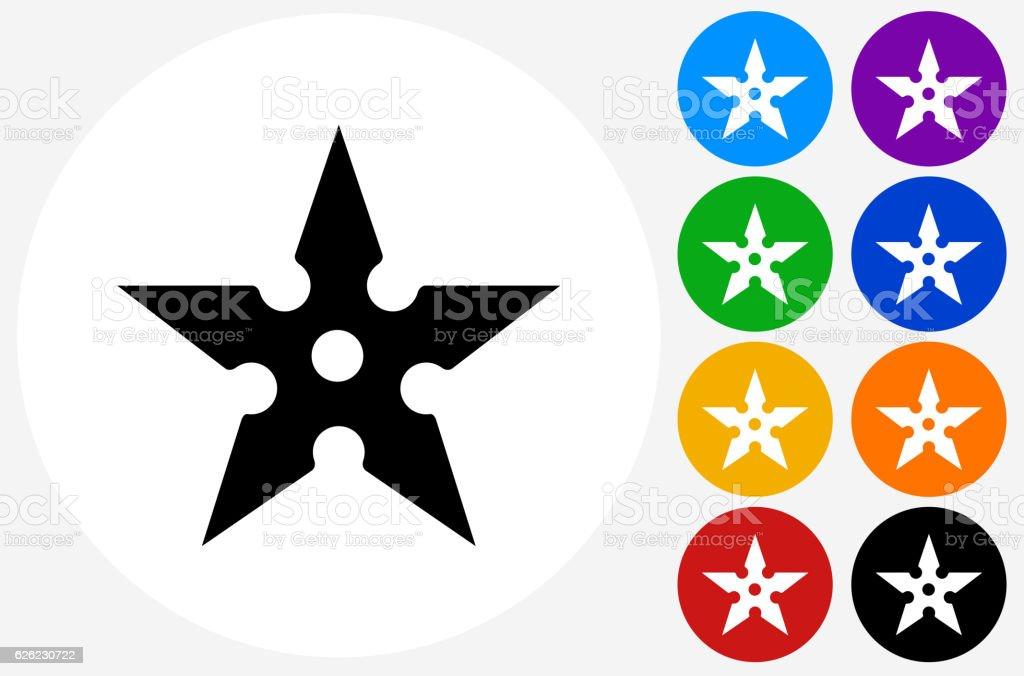 ninja star illustrations