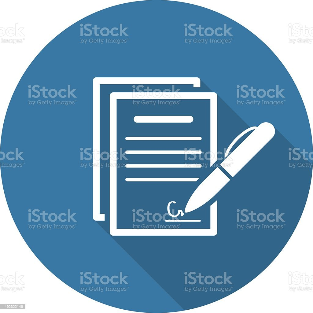 royalty free contract clip art