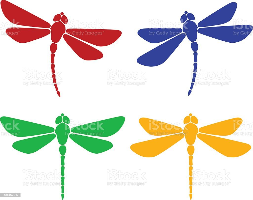 dragonfly illustrations royalty-free