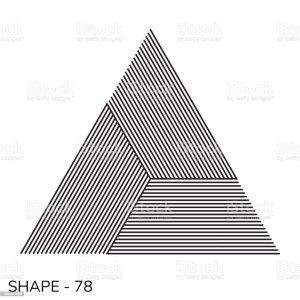 geometric simple shape