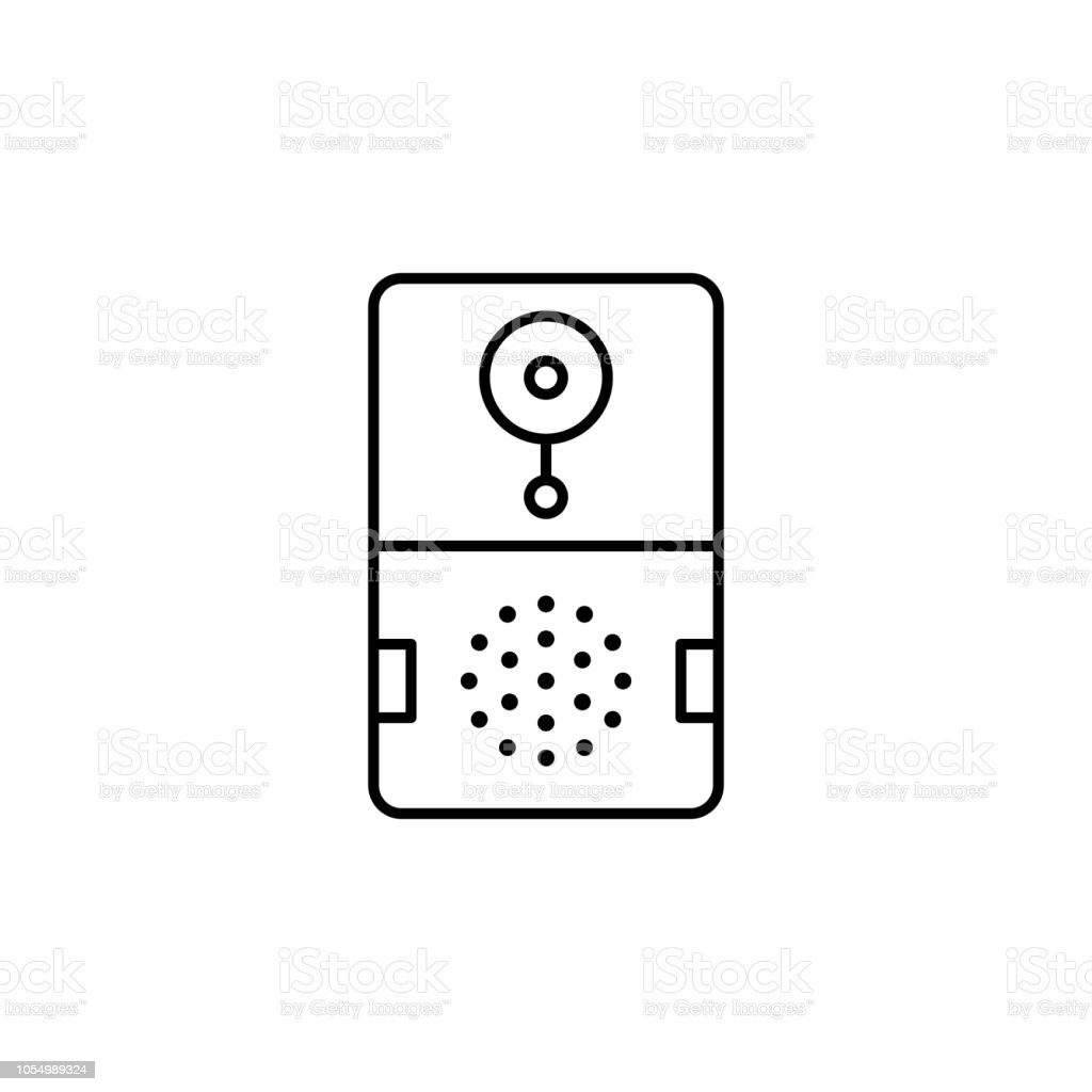 Smart Doorbell Icon Element Of Smart House Icon For Mobile