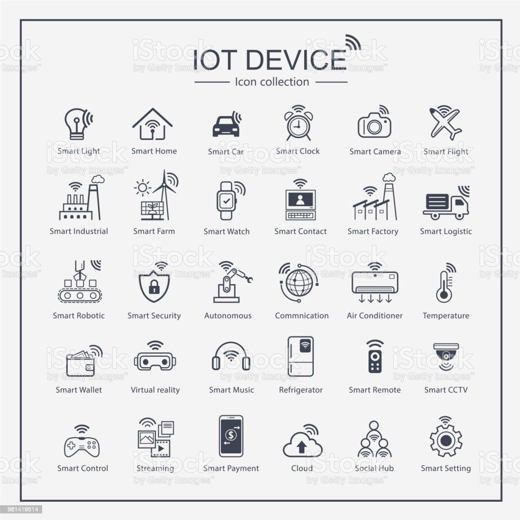 Smart Phone Ui Icon Collection Set Finger Print Qr Code
