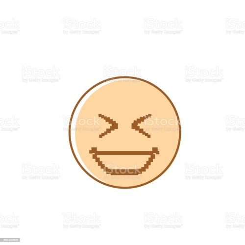 small resolution of smiling cartoon face laughing positive people emotion icon illustration