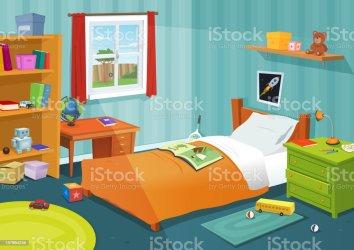 10 723 Kids Bedroom Illustrations Royalty Free Vector Graphics & Clip Art iStock