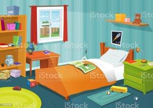 bedroom clip illustrations vector kid cartoons graphics royalty