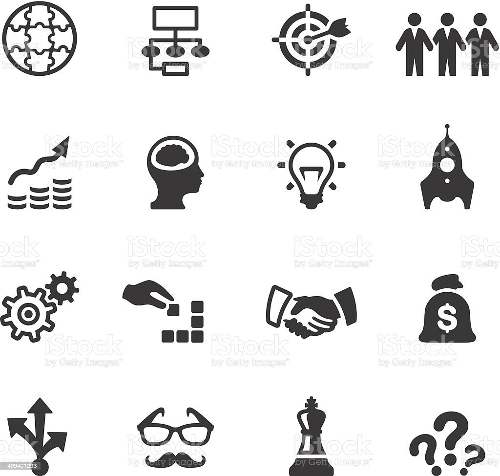 Soulico Icons Business Solution Stock Vector Art & More