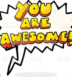 awe bizarre clip art cultures cute speech bubble cartoon you are awesome  [ 1024 x 946 Pixel ]
