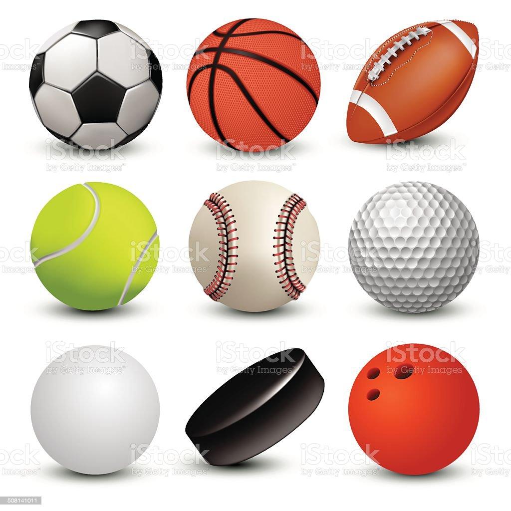 sports illustrations royalty-free