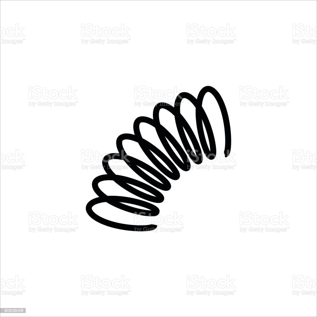 Spring Icon Vector Stock Vector Art & More Images of