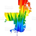 St Petersburg City Map Is Designed Rainbow Abstract Colorful Pattern City Of St Petersburg Map Made Of Color Explosion Stock Illustration Download Image Now Istock
