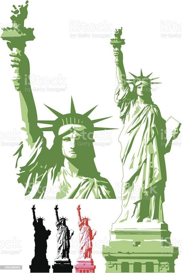 Statue Of Liberty stock vector art 165036963 iStock