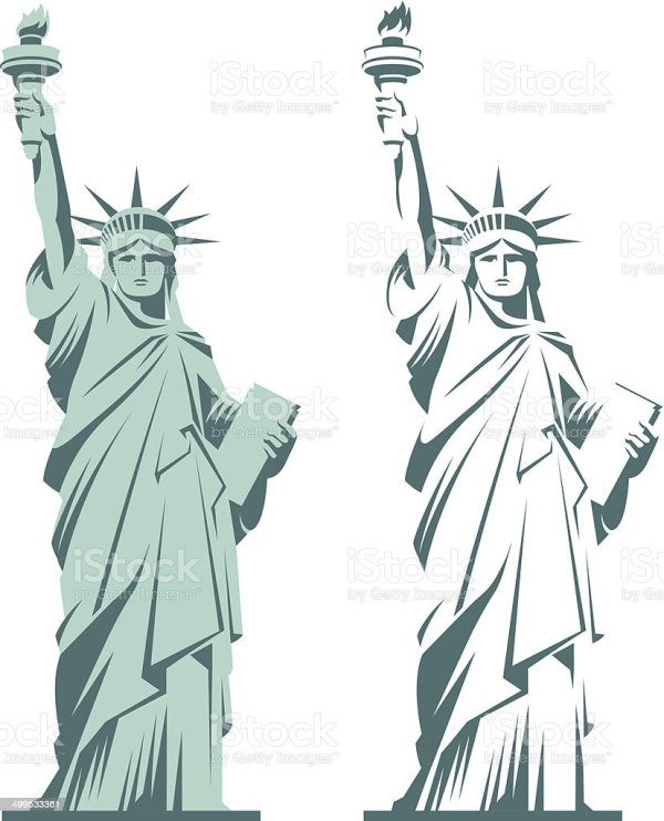 Statue Of Liberty Stock Vector Art More Images of