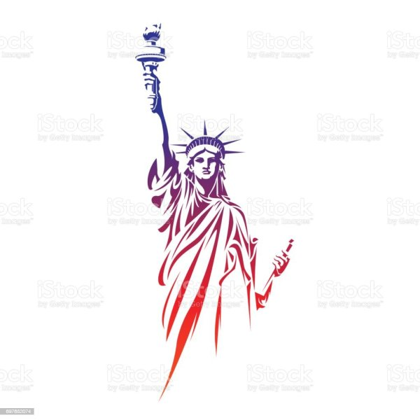 Statue Of Liberty Stock Vector Art More Images of Famous