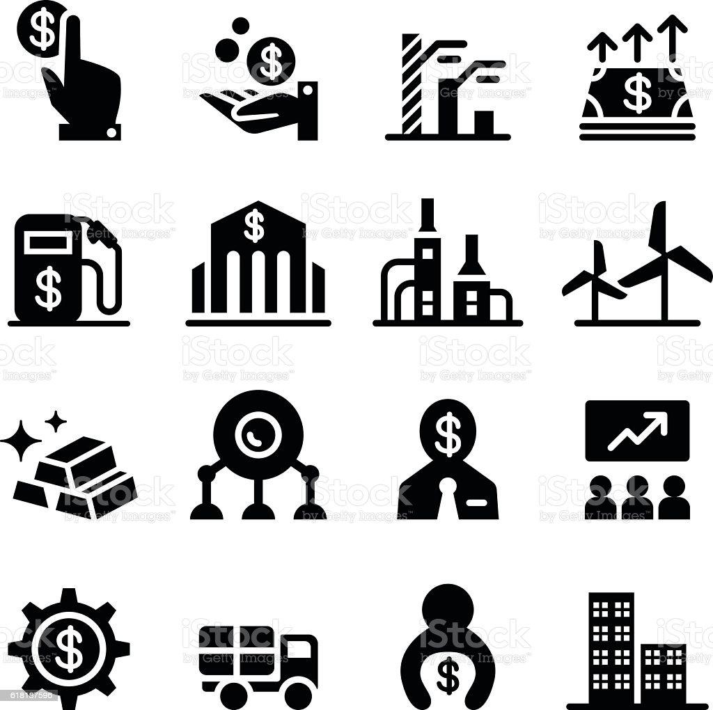Stock Exchange Stock Market Icons Stock Vector Art & More