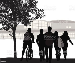 student silhouette vector clip crowd royalty illustrations illustration istock vectors istockphoto