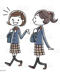 students vector walking clip illustrations similar vectors royalty