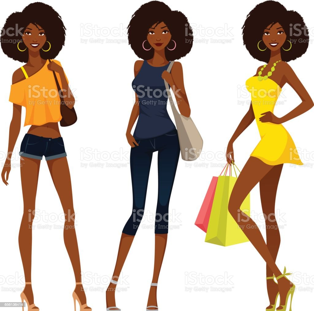 african american woman illustrations