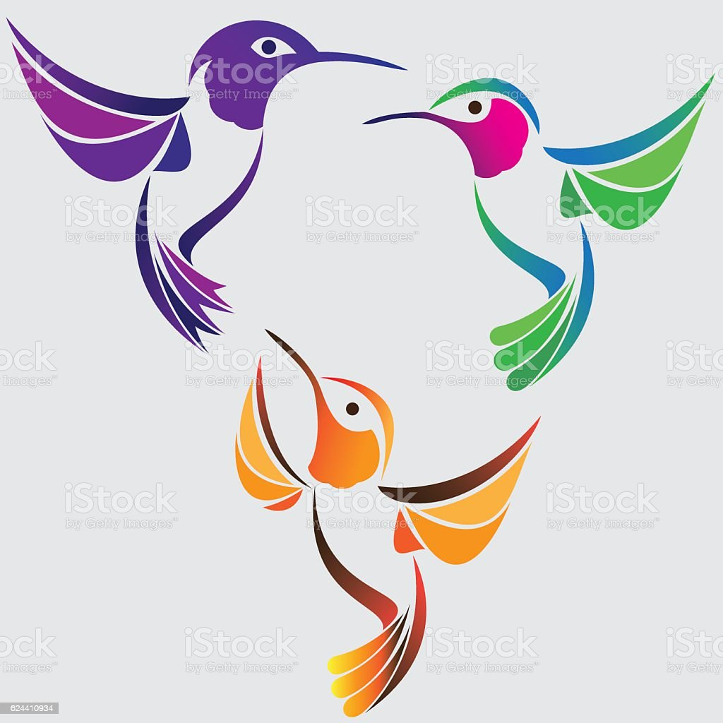 royalty free magnificent hummingbird
