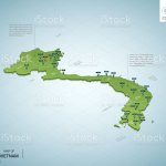 Stylized Map Of Vietnam Isometric 3d Green Map With Cities Borders Capital Hanoi Regions Vector Illustration Editable Layers Clearly Labeled English Language Stock Illustration Download Image Now Istock