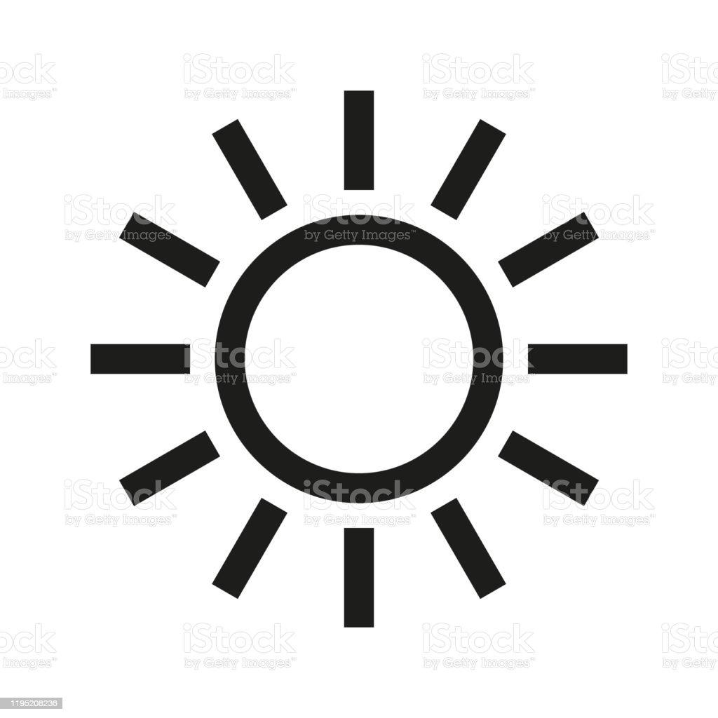 https www istockphoto com fr vectoriel ic c3 b4ne de soleil sur le fond blanc gm1195208236 340605031