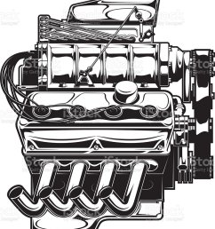 supercharged engine royalty free supercharged engine stock vector art amp more images of car [ 891 x 1024 Pixel ]