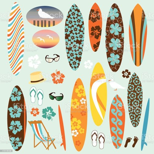 small resolution of surf clipart illustration