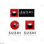 Sushi Symbol For Japanese Restaurant Logo Stock Illustration Download Image Now Istock