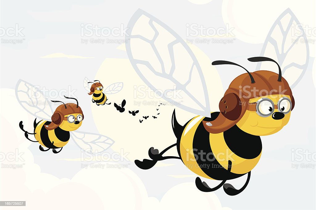 swarm of bees illustrations