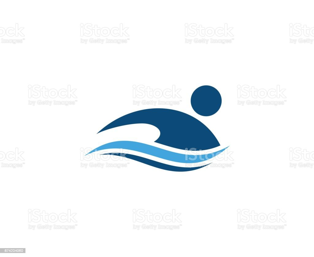 best swimming illustrations royalty