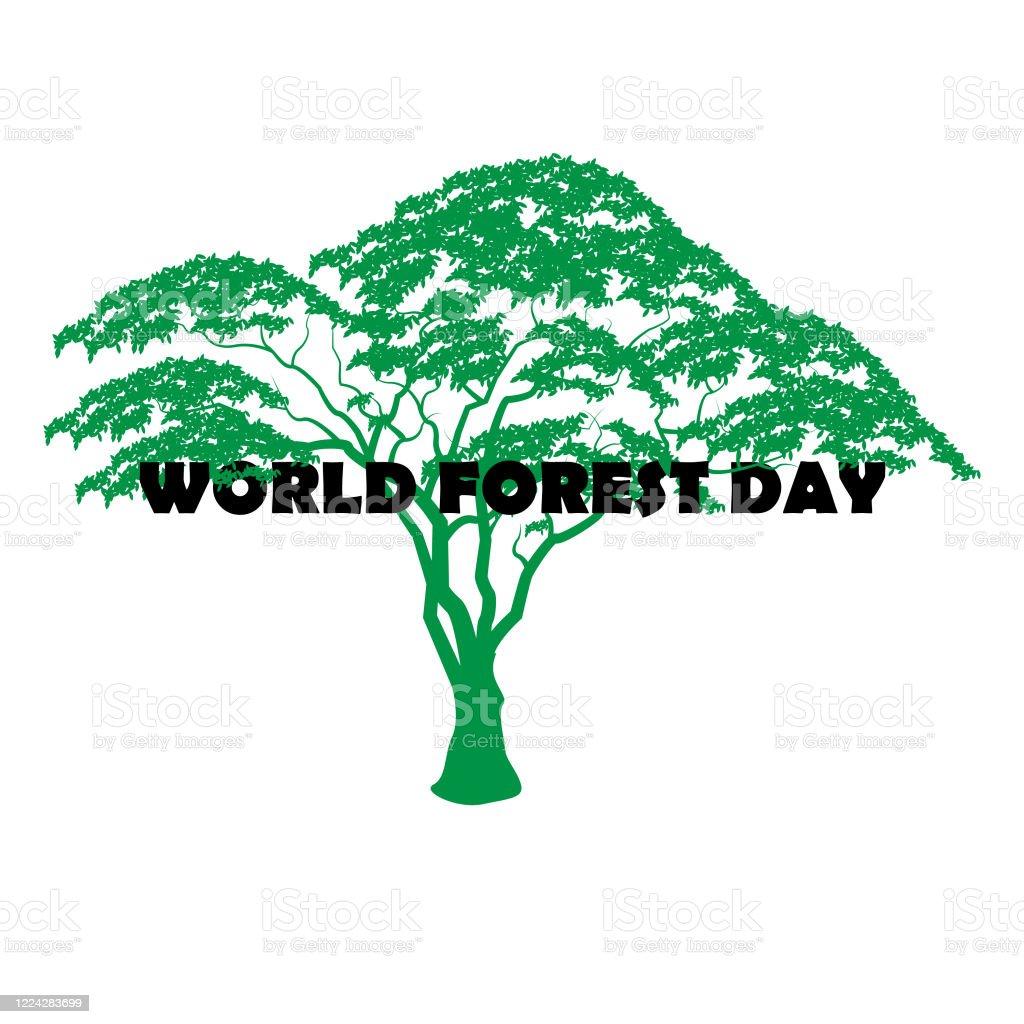 Tell us about the image. Tamarind Trad Poster World Forest Day Tryck Natur 21 Mars Vektorgrafik Och Fler Bilder Pa Affisch Istock